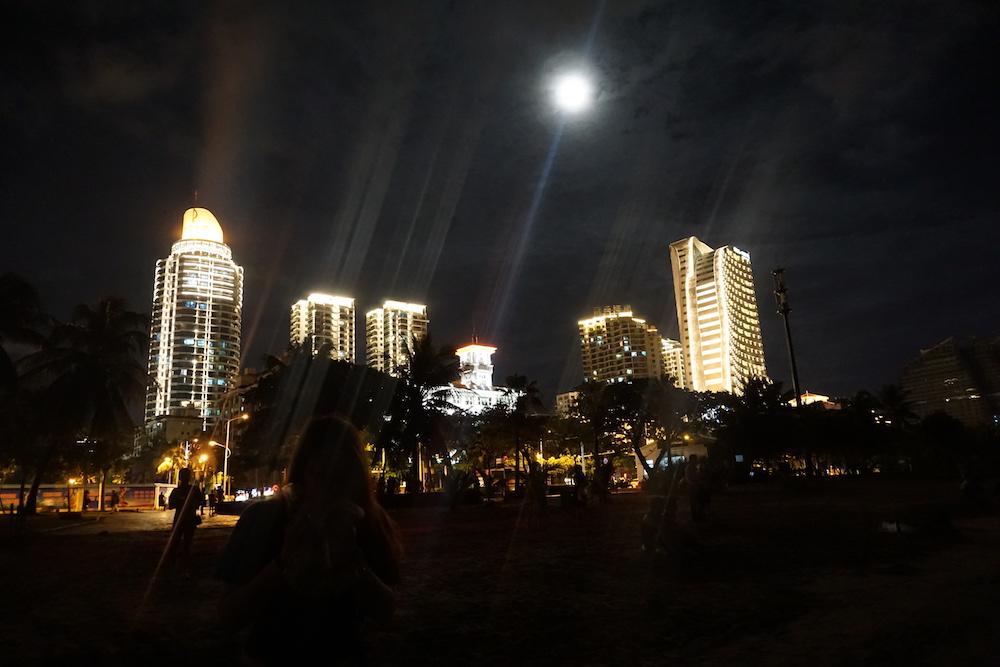 大东海夜景