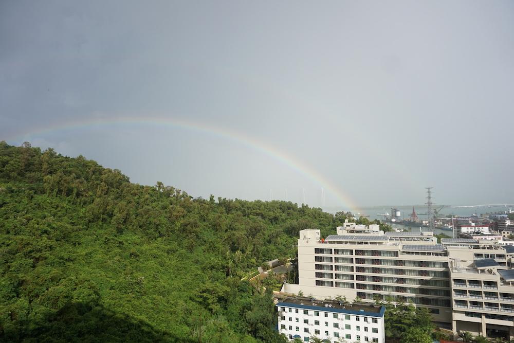 雨后双彩虹