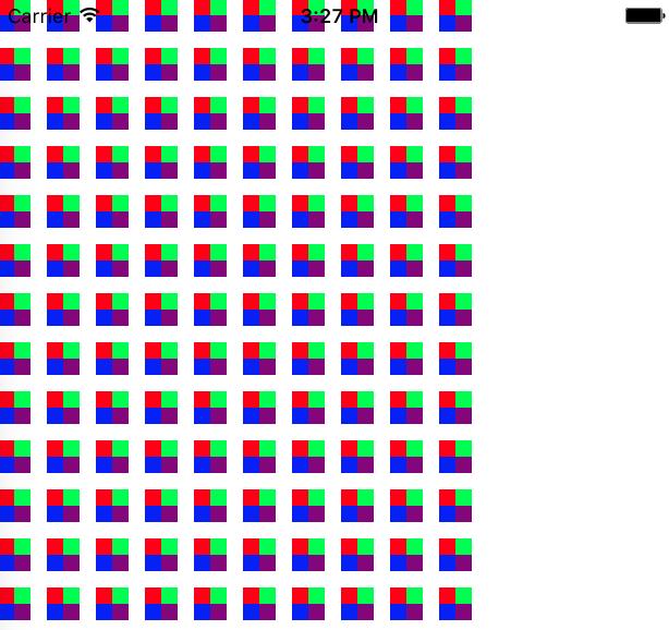 绘制着色模式的运行结果