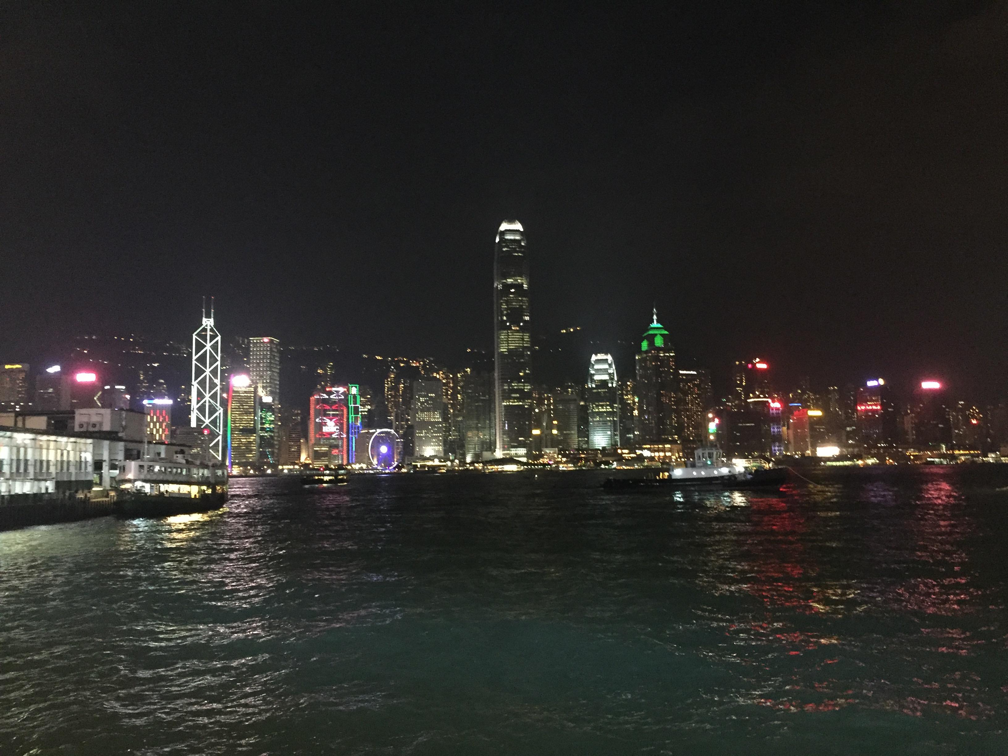 记四天的香港旅程