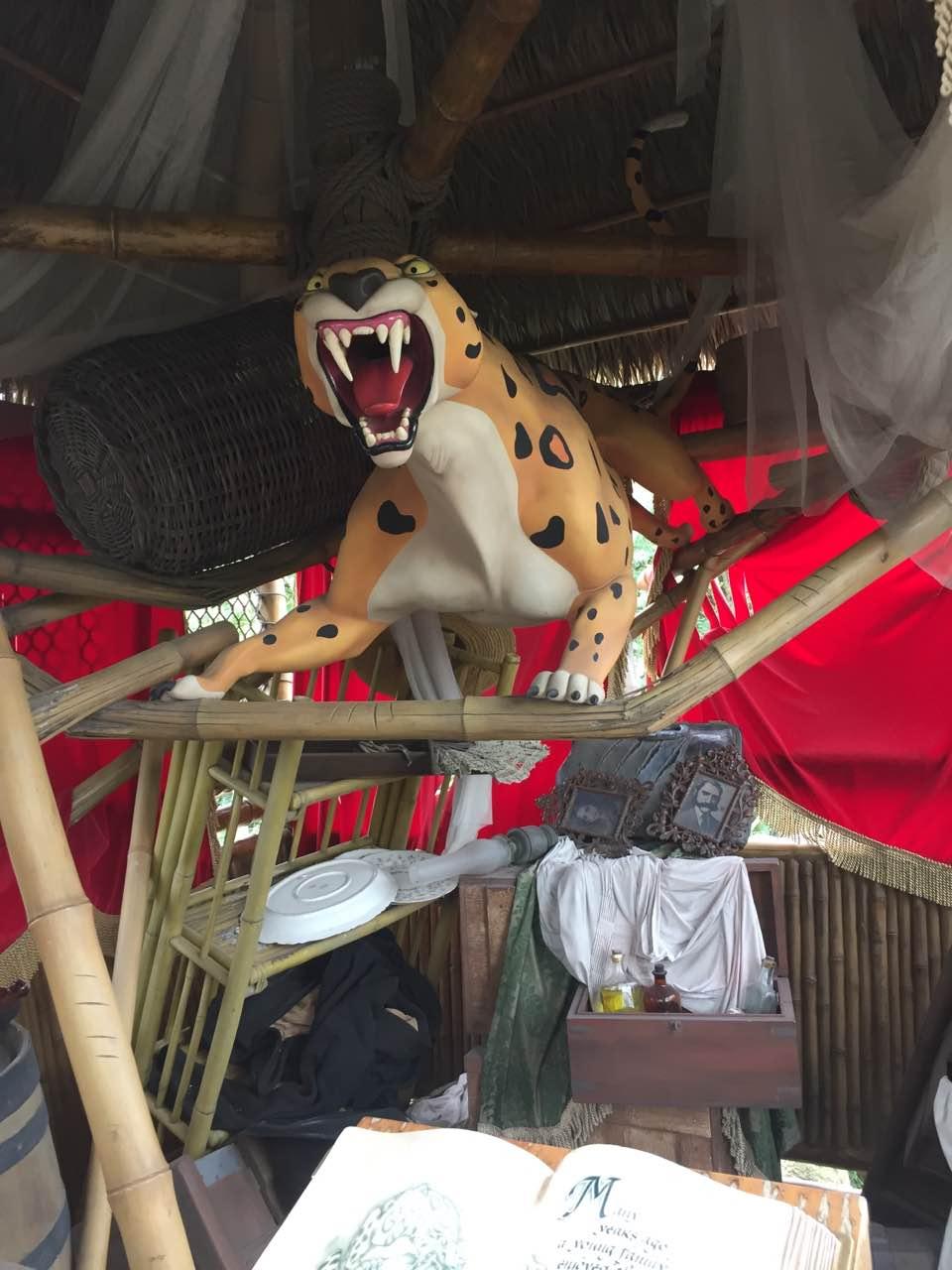 人猿泰山里的大花豹